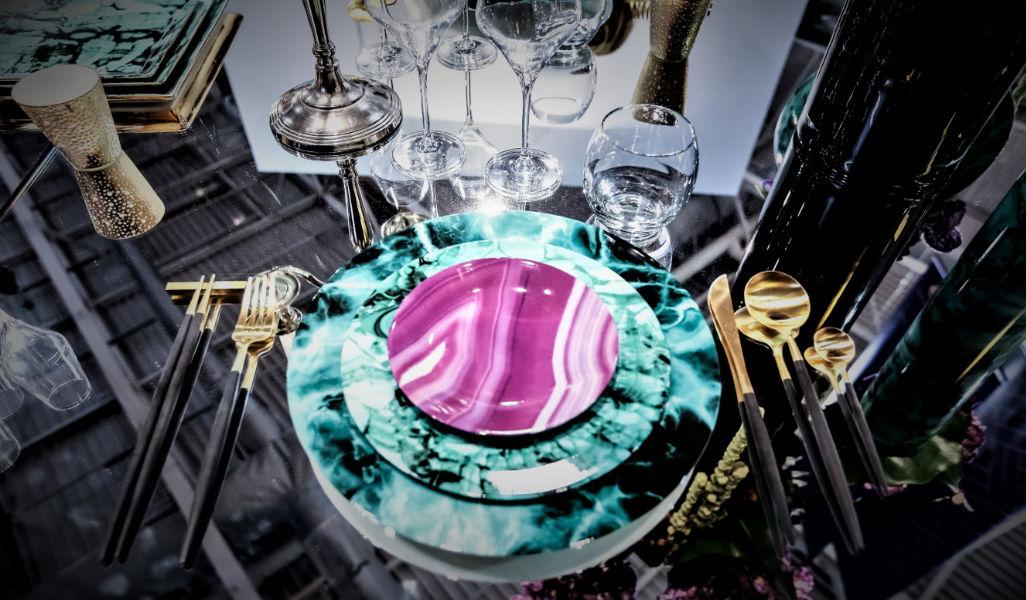 Legle Plato llano Presenta-platos Vajilla  |
