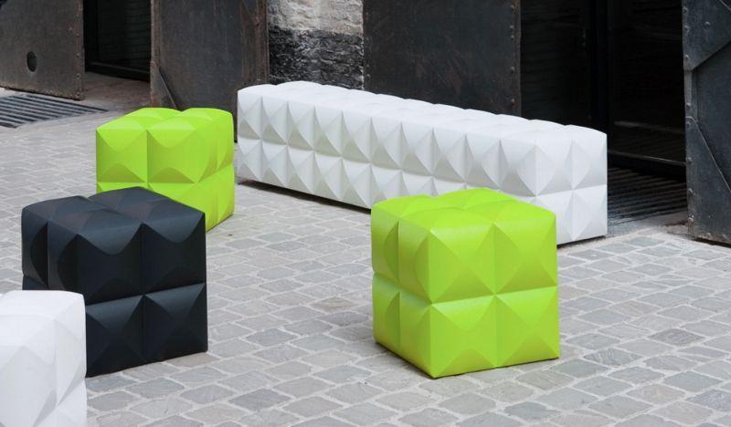 Sixinch Pouf de exterior Varios mobiliario de jardín Jardín Mobiliario  |