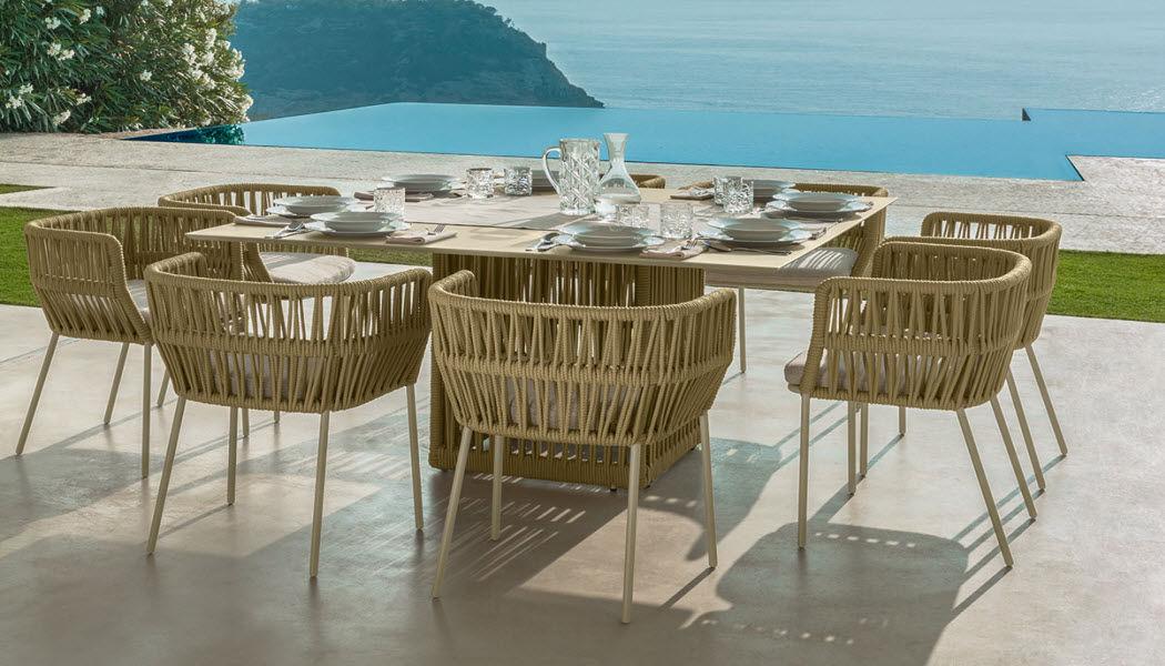 ITALY DREAM DESIGN Sillón de jardín Sillones de exterior Jardín Mobiliario Jardín-Piscina | Design Contemporáneo
