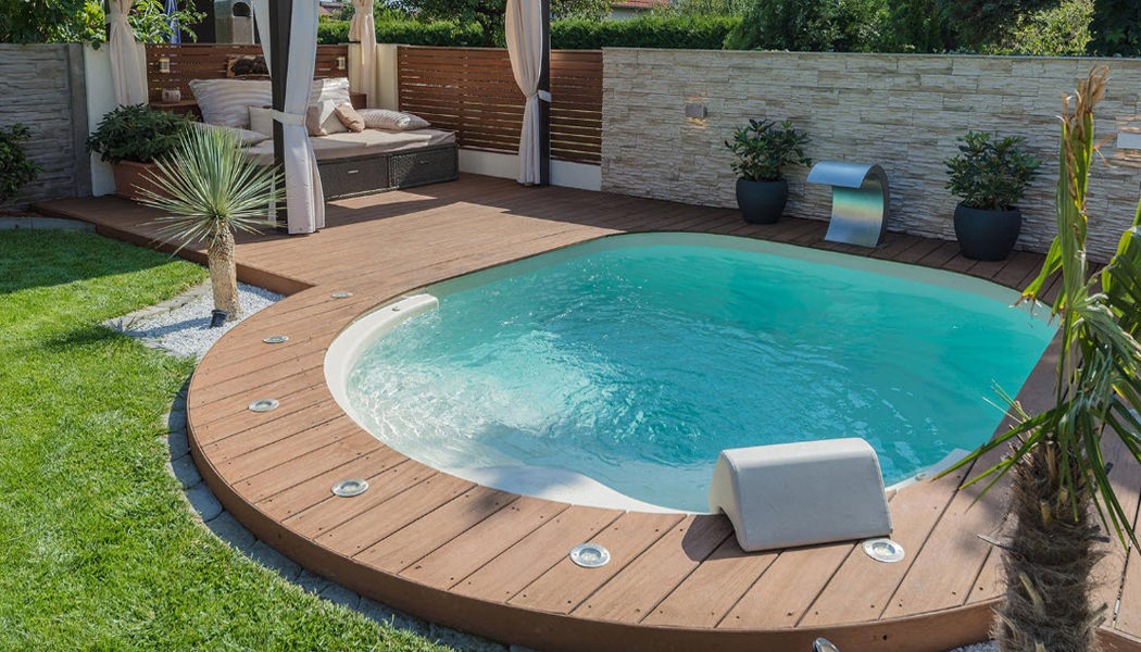 Piscines Waterair Piscinas Piscina y Spa Jardín-Piscina | Design Contemporáneo