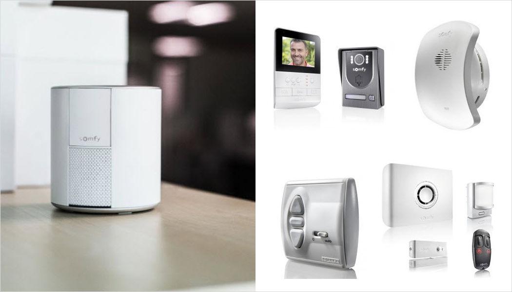 SOMFY Cámara de vigilancia Sistemas de interfono & videovigilancia Automatización doméstica Entrada | Design Contemporáneo