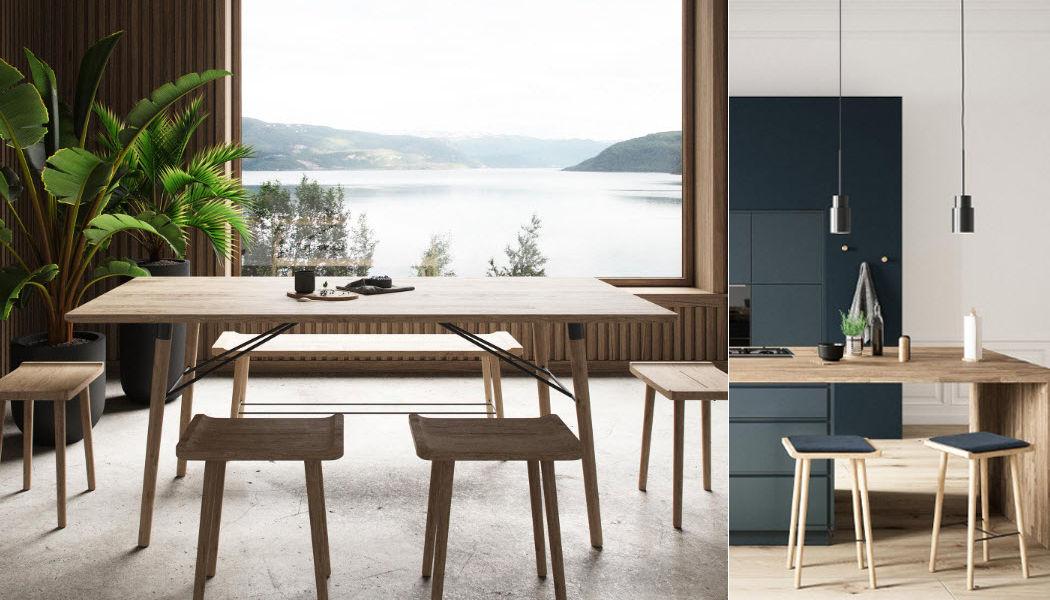 BY WIRTH Mesa de comedor rectangular Mesas de comedor & cocina Mesas & diverso  |