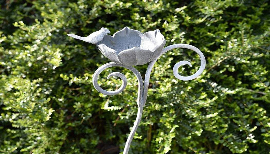 GARDEN ART PLUS Baño de pájaros Ornamentos de exterior Jardín Diverso  |