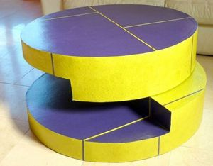 Mesa de centro redonda