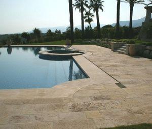 Playa de piscina