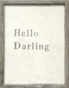 Sugarboo Designs - art print - hello darling - Cuadro Decorativo