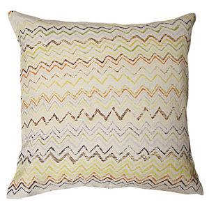 Sugarboo Designs - pillow collection - zig zag - Cojín Cuadrado