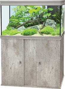 ZOLUX - ensemble aquarium aqua elegance 2 imitation béton  - Acuario