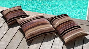 PROLOISIRS - 6 coussins déhoussables décor charme en coton (lot - Cojín De Suelo