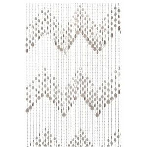 Present Time - rideau de porte plastique gris - Cortina De Puerta