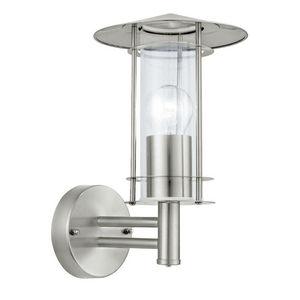 Eglo - lisio - applique d'extérieur verre & inox | lumin - Aplique De Exterior