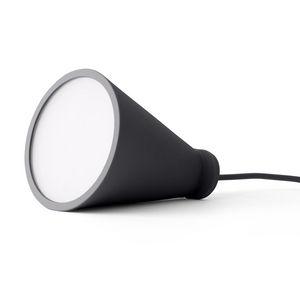 MENU - bollard - lampe baladeuse gris foncé h13cm | lampe - Lámpara De Sobremesa