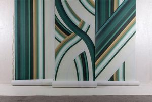 4Spaces - stripe tease-- - Papel Pintado