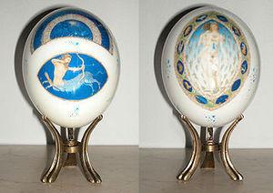 Arte Decoration -  - Huevo Decorativo