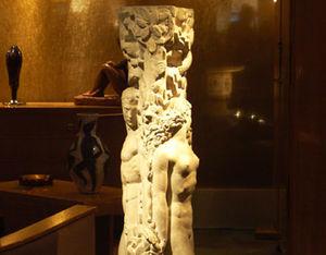 Galalithe - statue en platre - Estatua