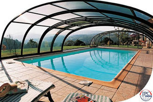 Telescopic Pool Enclosures -  - Cubierta De Piscina Alta Corredera O Telescópica