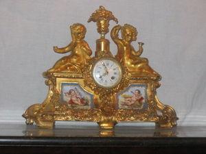 Antiquité-Brocante de la Loire - horloge napoléon iii - Reloj De Apoyo
