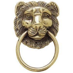 FERRURES ET PATINES - poignée tête de lion - Tirador De Mueble