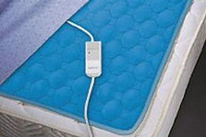 Cubre colchón calentador