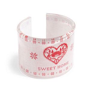 Maisons du monde - rond de serviette sweet home - Servilletero