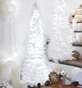 Blachere Illumination - sapin coniques plumes - Abeto De Navidad Artificial