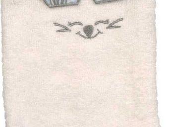 SIRETEX - SENSEI - gant de toilette enfant en forme de souris ciel - Guante De Aseo