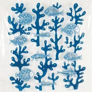 Opportunity - rideau de douche poissons bleus - Cortina De Ducha