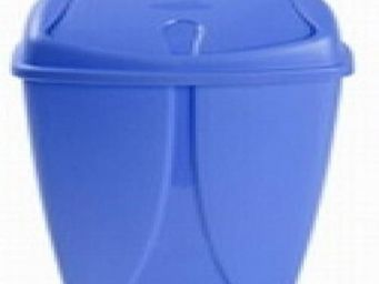 Up Trade - poubelle salle de bain 10 litres bleu - Papelera De Cuarto De Ba�o