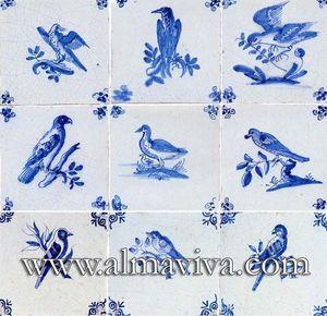 Almaviva -  - Azulejo De Delft