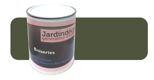 Peinturokilo - peinture vert olive pour meuble en bois brut 1 lit - Pintura Para Madera