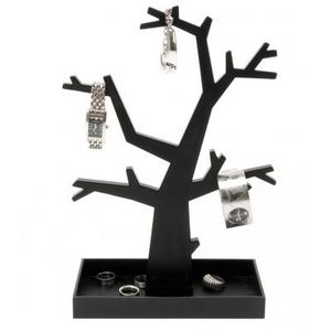 Present Time - arbre àbijoux noir ou argenté - Portajoyas