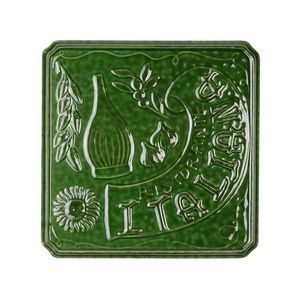 La Chaise Longue - dessous de plat italiana vert - Salvamantel