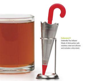 R.S.V.P. International - umbrella tea infuser - Cuchara De Té Infusor