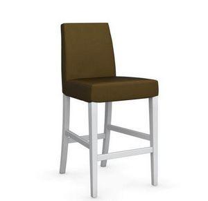 Calligaris - chaise de bar latina de calligaris vert olive et h - Silla Alta