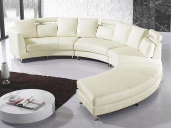 BELIANI - rotunde - Sofá Modular