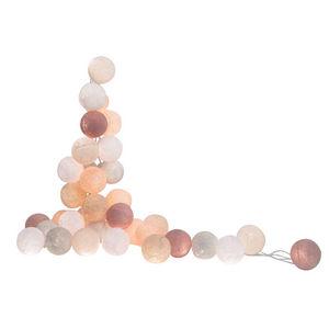LA CASE DE COUSIN PAUL - altiplano - coffret guirlande lumineuse rose/blanc - Guirnalda Luminosa