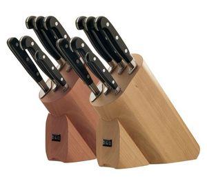 DOMUS & DESIGN - stump 6 pièces ovales - Bloque De Cuchillos