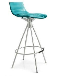 Calligaris - chaise de bar design l'eau de calligaris en plexi - Silla Alta