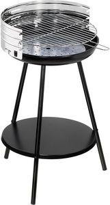 Dalper - barbecue à charbon rond en inox new clasic - Barbacoa De Carbón