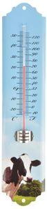 Esschert Design - thermomètre mural vache vache - Termómetro
