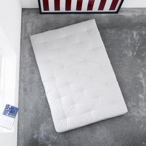 WHITE LABEL - matelas futon coco 180*200*16cm - Futón