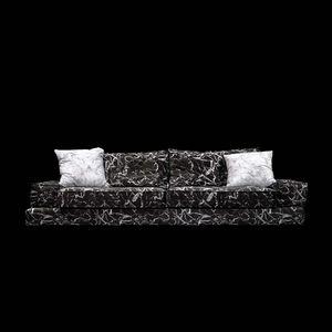 SOLO ATHENS - sã??lã?? tank marble sofa - Sofá De Relax