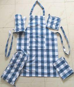 ITI  - Indian Textile Innovation - checks - Delantal De Cocina