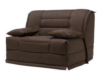 WHITE LABEL - fauteuil-lit bz matelas hr 120 cm - speed capy - l - Banqueta Bz