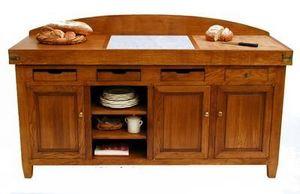 Maison Strosser - bahut billot solognot - Tajo De Cocina