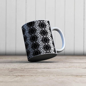 la Magie dans l'Image - mug african noir - Taza