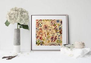 la Magie dans l'Image - print art végétal beige - Póster