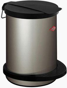 Wesco - pedal bin 111 new silver - Cubo De Basura De Cocina