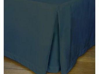 Liou - cache-sommier plis creux gris intense - Cubre Somier