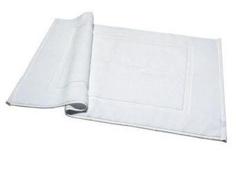Liou - tapis de bain blanc - Alfombra De Baño